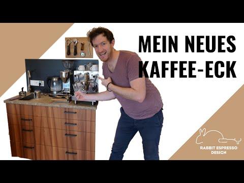 Kaffee-Ecke gestalten uns selber bauen - So sieht mein neues Kaffee -Eck aus - meine Gedanken