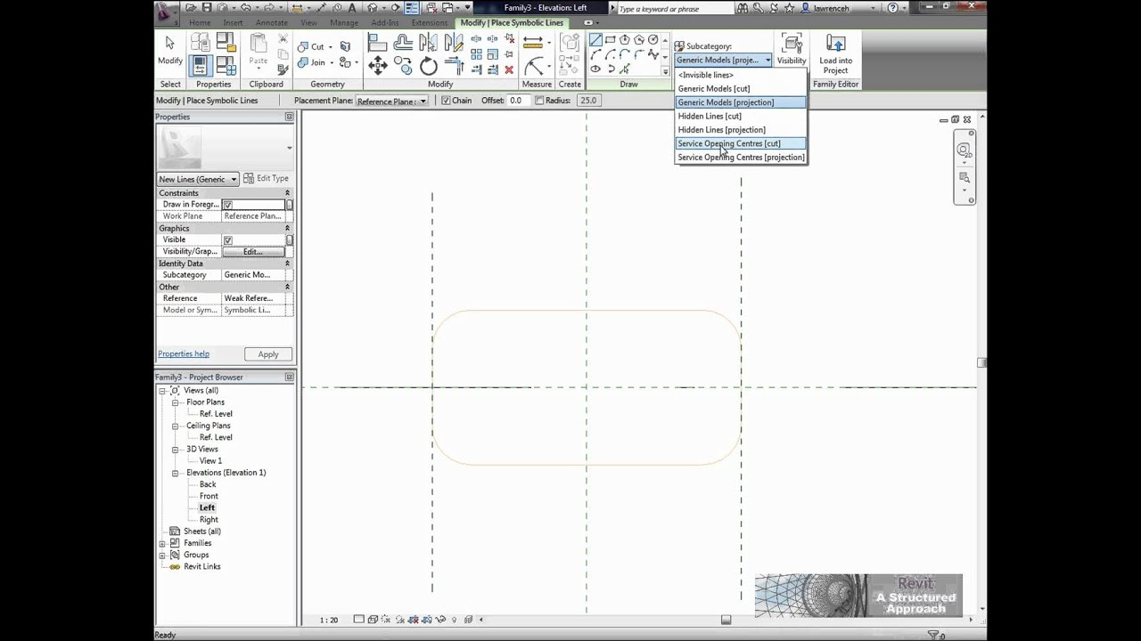 Creating Service Openings in Revit Structure 2012