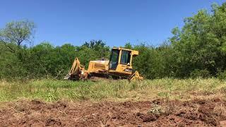 Katy The Bulldozer Clearing Land