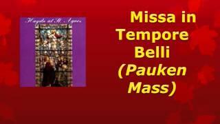 Gloria from Missa in Tempore Belli (Pauken Mass) by Joseph Haydn