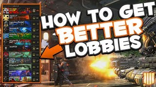 Finding Easier Lobbies in CoD BO4 Multiplayer | Tips GOOD Players Use