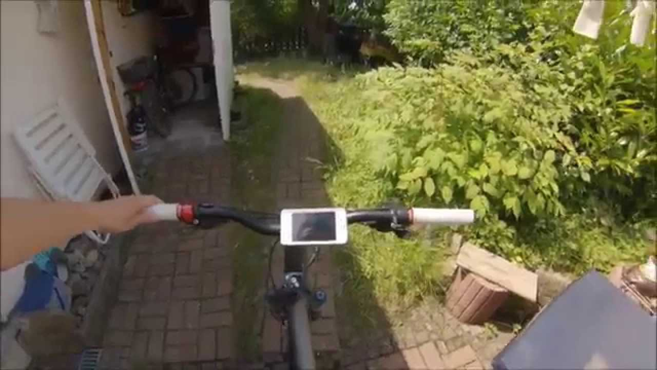 bicycle mobile phone mount diy youtube