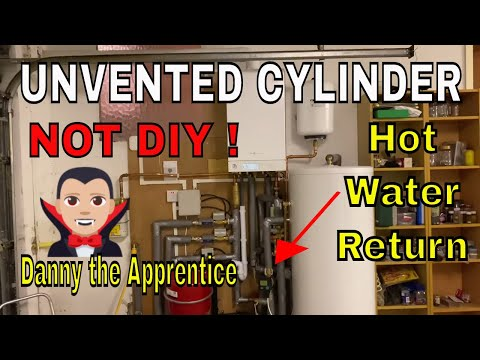 UNVENTED HOT WATER CYLINDER - Apprentice Plumber