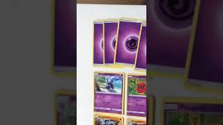 Mijn Pokémon kaarten verzameling