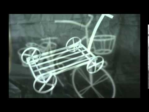 Bicicleta Decorativa de Ferro