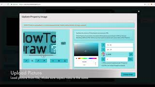 How To Upload A Drawing Or Picture On PixelProperty