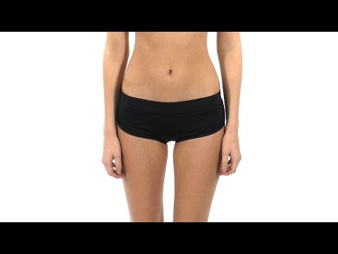172d5da45afc Volcom Simply Solid Bikini Boardie Bottom | SwimOutlet.com - YouTube