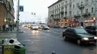 Budapest délutáni csúcsforgalom