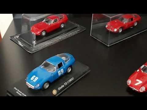 1:43 collection cars ALFA ROMEO TZ1 rally 1963 - 1964