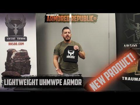AR500 Armor® Level III Lightweight Polyethylene Body Armor