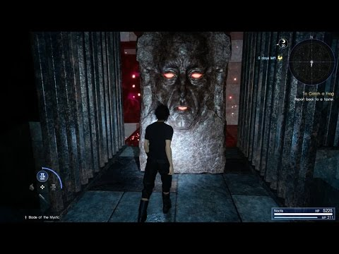Exploring The Secret Dungeon In Final Fantasy XV