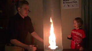 Flame Vortex Fire Tornado – Make Science Fun