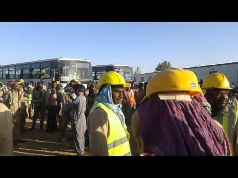 Saudi Arabia SHAR company strike