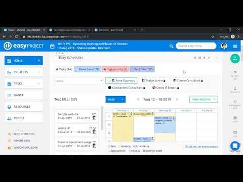 Webinars - Easy Project