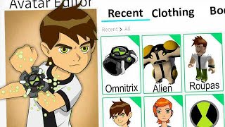 We CREATED the BEN 10 PROFILE on ROBLOX