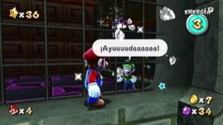 Super Mario Galaxy (Parte 37) - Galaxia Fantasmagórica - Luigi y la Casa Encantada