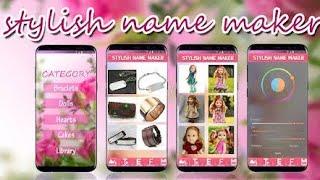 Stylish Name Maker - New Stylish Name Generator Android 2020 screenshot 1