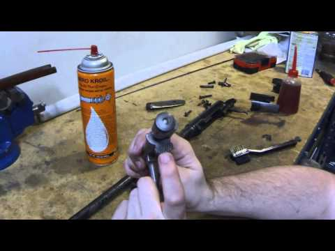 Untouched Japanese Type I Arisaka Carcano Navy Rifle Cleaning Assembly and Overview