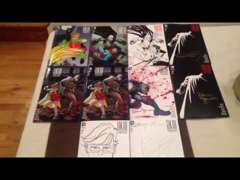 My Frank Miller Signed and Drawn DK3 Collection