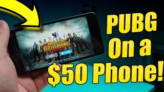 PUBG Mobile On A $50 Phone!