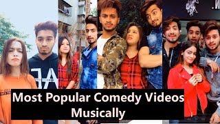 Most Popular Comedy Videos of Musically 2019 | Aashika, Mr. Faisu, Hasnain, Adnaan, Memonshifu