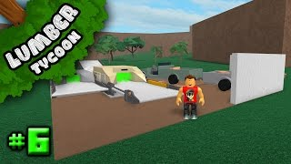 Lumber Tycoon 2 Ep. 6: Starting to Build!!! | Roblox