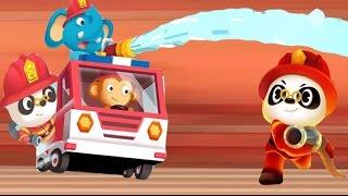 Доктор Панда все серии подряд. Пожарная машина мультик все серии. 30 минут. Доктор Панда все серии