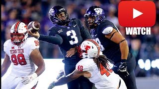 Texas Tech vs TCU Week 7 Full Game Highlights (HD)