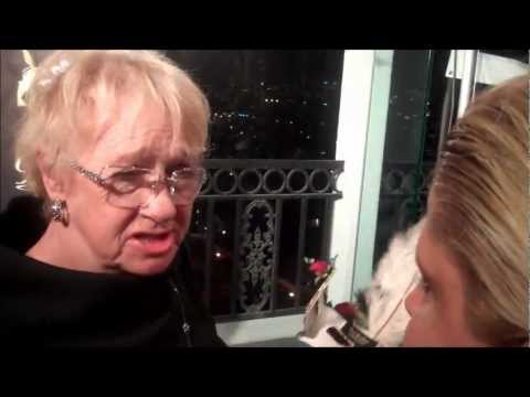 TINA GREY FROM RED CARPET DRIVE INTERVIEWS KATHRYN JOOSTEN AT GBK SOHO PROJECT EVENT