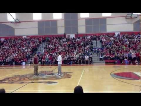 Fishers High School Juniors' Skit