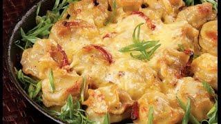 Пельмени в духовке с сыром. Сытный ужин