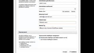 how install Wordpress with installatron on directadmin