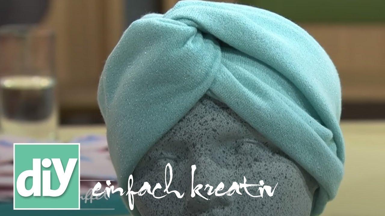 Turban-Stirnbänder | DIY einfach kreativ - YouTube