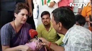 Priyanka Gandhi ने Yogi Adityanath की टिप्पणी पर किया पलटवार