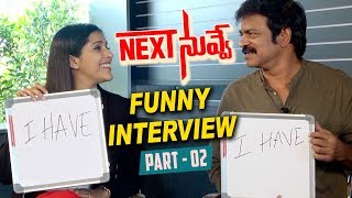 Next Nuvve Movie Team Funny Interview Part -02 | Aadi | Vaibhavi | Rashmi Gautam | #NextNuvve