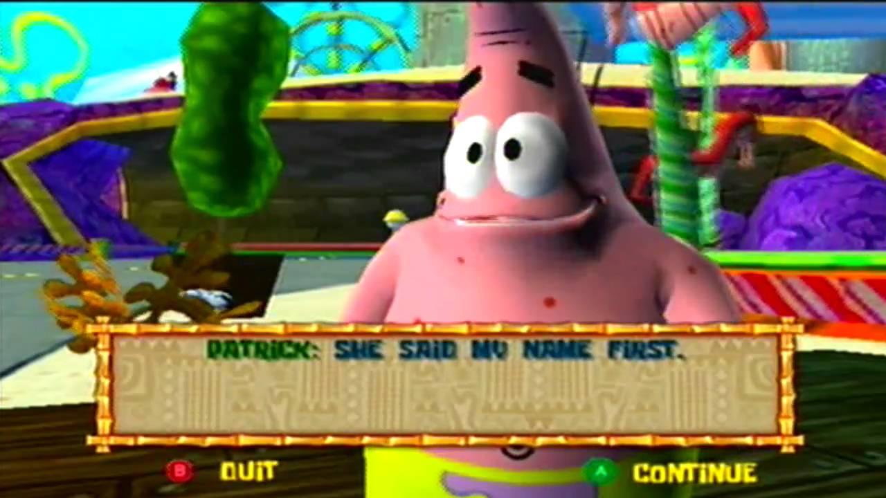 The spongebob squarepants movie game cube part 14 youtube