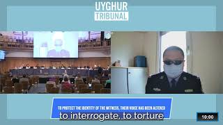 Uyghur Tribunal: Wang Leizhan Testimony