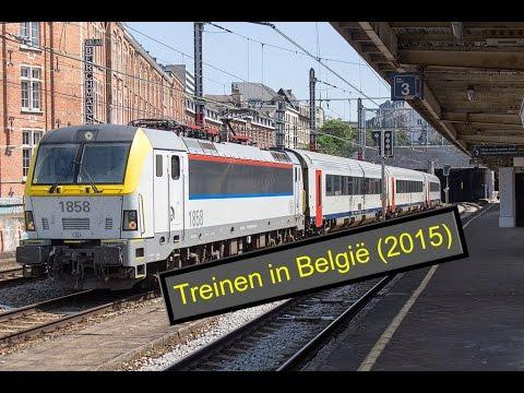 Treinen in België (2015)