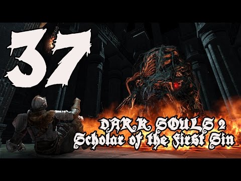 Dark Souls 2 Scholar of the First Sin - Walkthrough Part 37: Undead Crypt