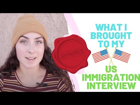 What I Brought To My US Immigration Interview (APPROVED!)| CR1 / IR1