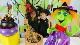 Cadılar Katy ve Sabrina büyü yarışında