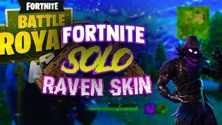 FORTNITE RAVEN SKIN SOLO (PLOT TWIST)