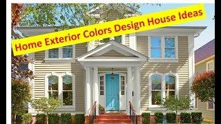 [Home Decor] Home Exterior Colors Design House Ideas