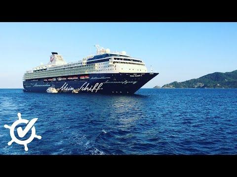 Mein Schiff 1: Live-Rundgang bei TUI Cruises - Schiffstour