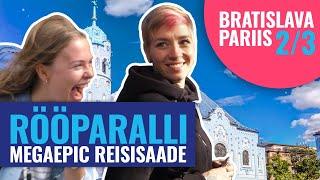 Rööparalli - Head aega Amsterdam ja Praha. Tere Pariis ja Bratislava.