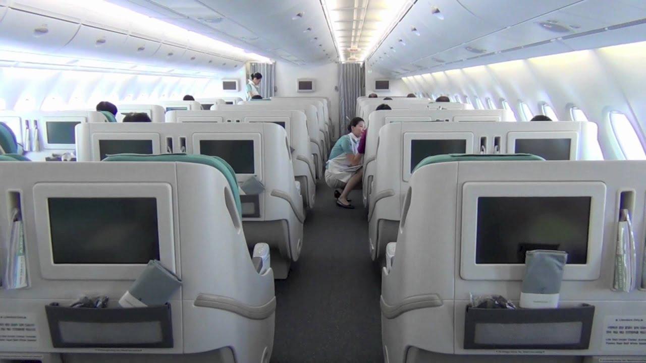 korean air a380 861 hl7611 prestige class upper deck. Black Bedroom Furniture Sets. Home Design Ideas
