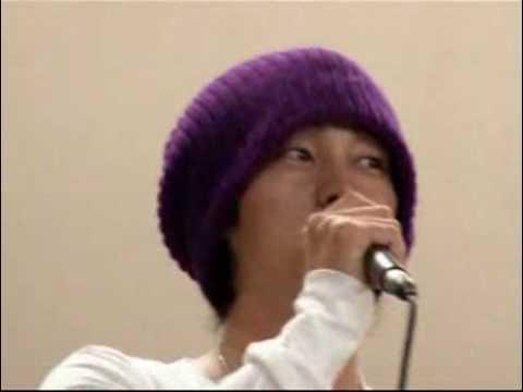 Jisub oppa crying at birthday party110108