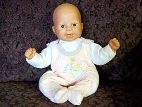 Zapf Creation Jolly Dolly Baby Chou Chou Doll Youtube