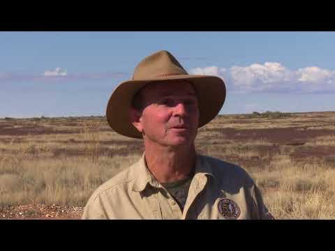 Adventure Trek 'The Ghan' Outback Railway.