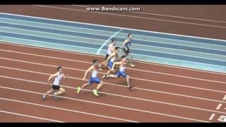 Бег 60 метров. 2 полуфинал м. Чемпионат России